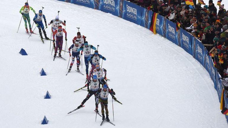 Биатлонисты решительно настроены в вопросе допинговых скандалов. Фото AFP