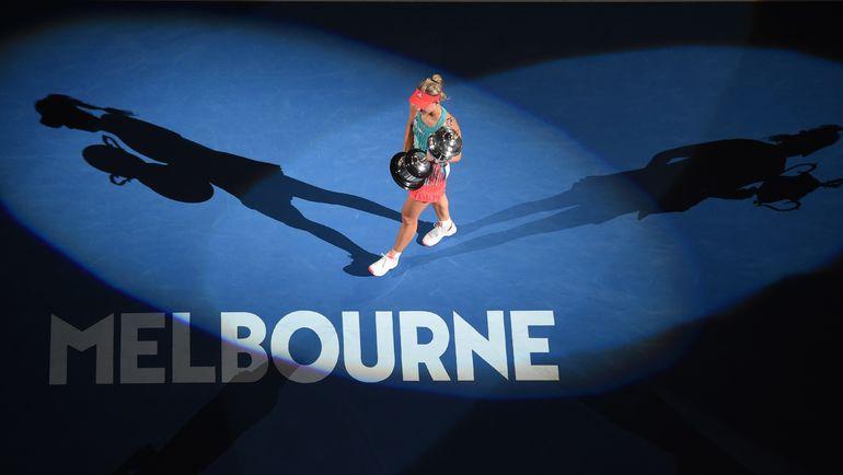 Чемпионка Australian Open-2016 Ангелик КЕРБЕР. Фото AFP