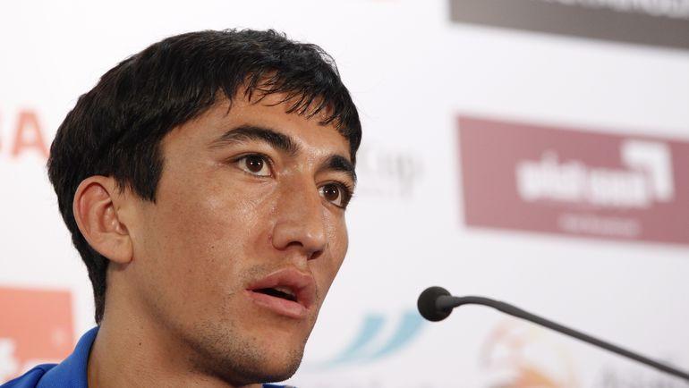 Одил АХМЕДОВ - теперь звезда чемпионата Китая. Фото Reuters