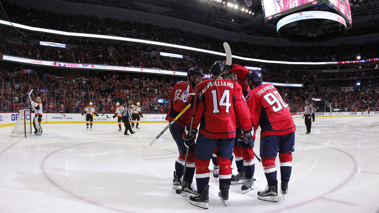 """Воскресенье. Вашингтон. """"Вашингтон"""" - """"Филадельфия"""" - 5:0. Столичная команда продлила победную серию. Фото USA Today"""