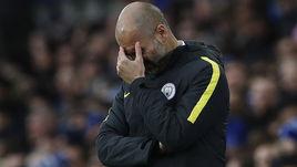 """Воскресенье. Ливерпуль. """"Эвертон"""" - """"Манчестер Сити"""" - 4:0. В Англии у Хосепа ГВАРДЬОЛЫ все пока складывается далеко не идеально."""