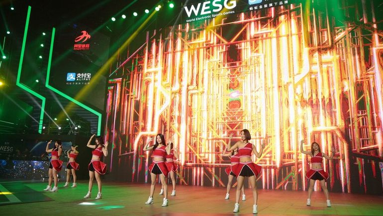 Церемония открытия WESG. Фото Пресс-служба WESG