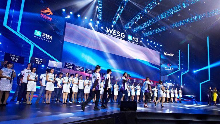 Представление сборной России по CS:GO на WESG. Фото Пресс-служба WESG
