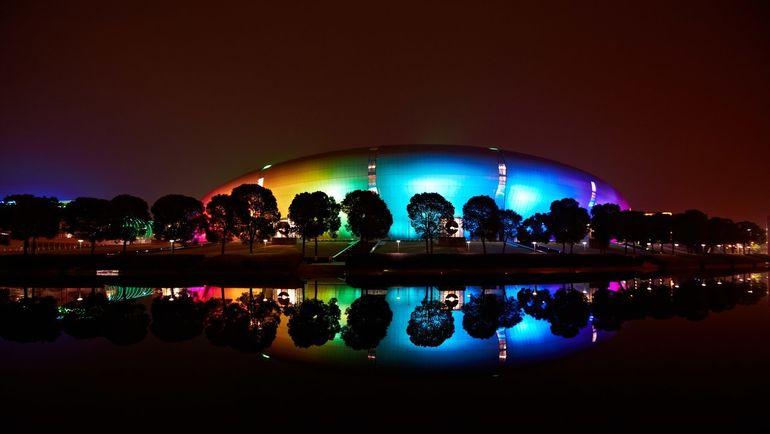 Стадион в Чанчжоу, где проходили матчи WESG. Фото Пресс-служба WESG