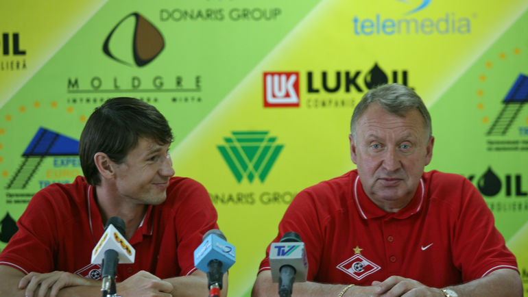 Егор ТИТОВ и Владимир ФЕДОТОВ. Фото Александр ВИЛЬФ