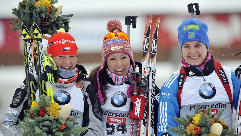Ирина СТАРЫХ (справа). Фото AFP