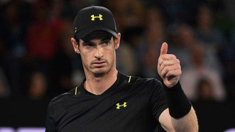Энди МАРРЭЙ, по мнению Андрея Ольховского, стал главным фаворитом Australian Open после поражения Новака Джоковича. Фото AFP