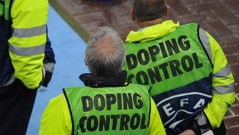 Российские футболисты находятся под постоянным контролем. Фото AFP