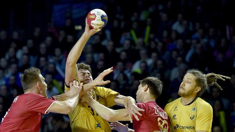 Матч против Бразилии имел важное значение для российских гандболистов. Фото REUTERS