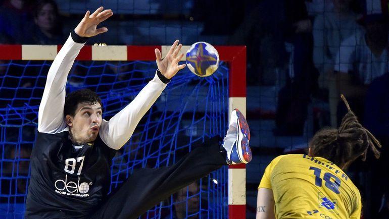 Вратарь сборной России Виктор КИРЕЕВ. Фото AFP