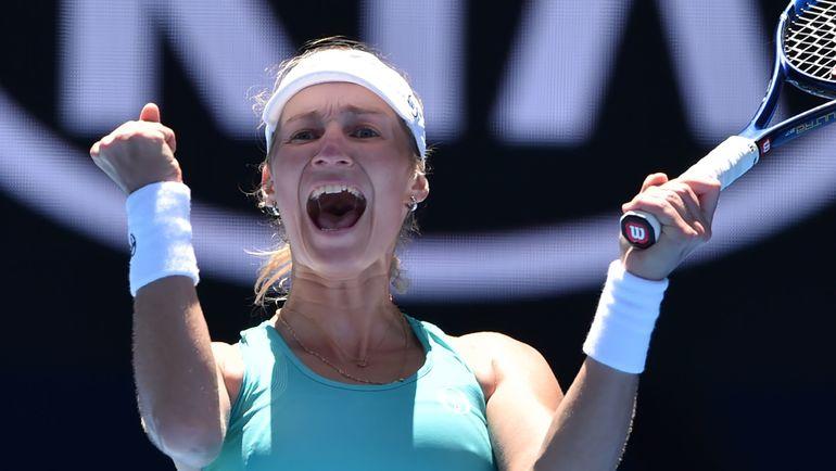 Сегодня. Мельбурн. Екатерина МАКАРОВА вышла в четвертый круг Australian Open. Фото AFP