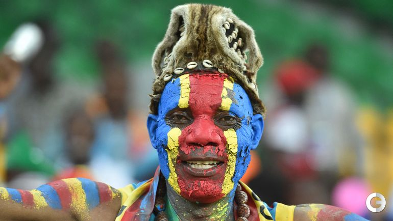 Болельщик сборной Конго.