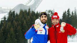 Мартен ФУРКАД (слева) и Оле Эйнар БЬОРНДАЛЕН.