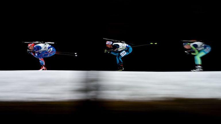 Расследование по семи российским биатлонистам продолжается. Фото AFP