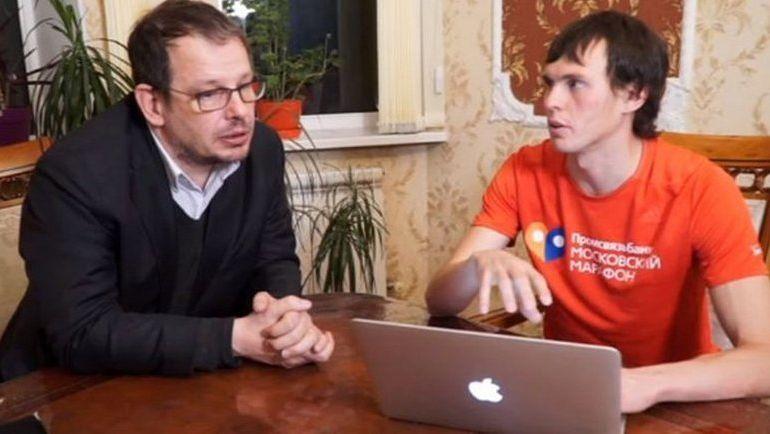 Андрей ДМИТРИЕВ (справа) и Хайо ЗЕППЕЛЬТ. Фото ARD