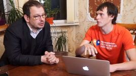 Андрей ДМИТРИЕВ (справа) и Хайо ЗЕППЕЛЬТ.