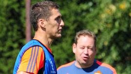 Виктор ВАСИН (слева) и Леонид СЛУЦКИЙ.
