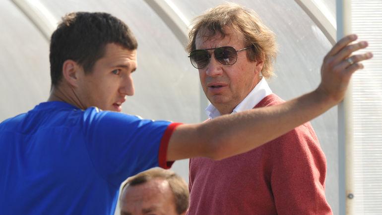 "Виктор ВАСИН (слева) и Юрий СЕМИН. Фото Александр ФЕДОРОВ, ""СЭ"""