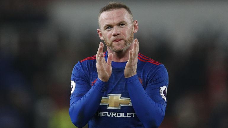 """Суббота. Сток-он-Трент. """"Стоук Сити"""" - """"Манчестер Юнайтед"""" - 1:1. Уэйн РУНИ."""