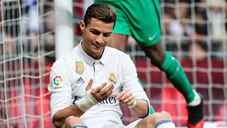 """Суббота. Мадрид. """"Реал"""" - """"Малага"""" - 2:1. КРИШТИАНУ РОНАЛДУ не смог отличиться в этом матче. Фото AFP"""