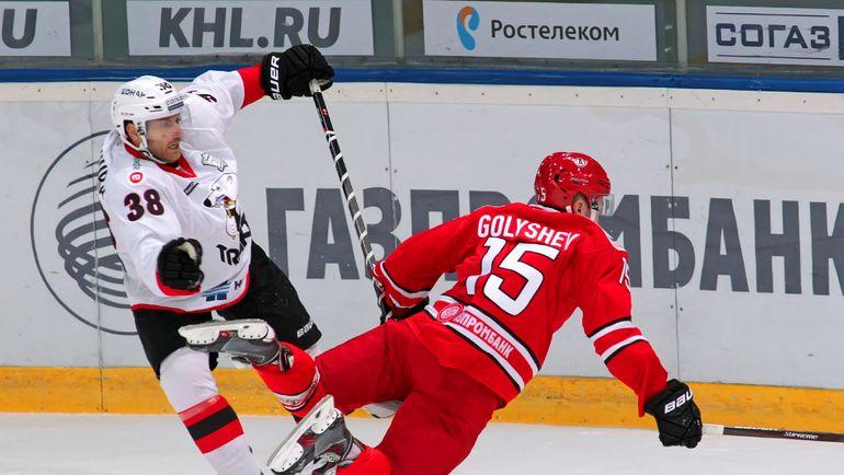 Пол ЩЕХУРА и Анатолий ГОЛЫШЕВ. Фото photo.khl.ru