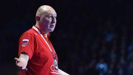 Главный тренер мужской сборной России Дмитрий ТОРГОВАНОВ.