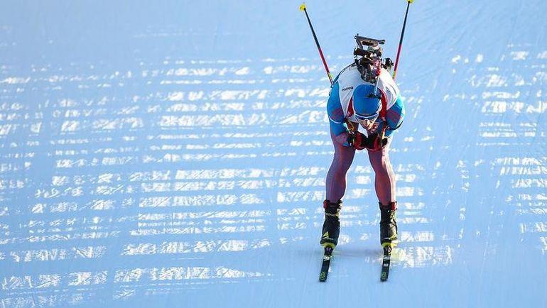 Дмитрий МАЛЫШКО. Фото Союз биатлонистов России