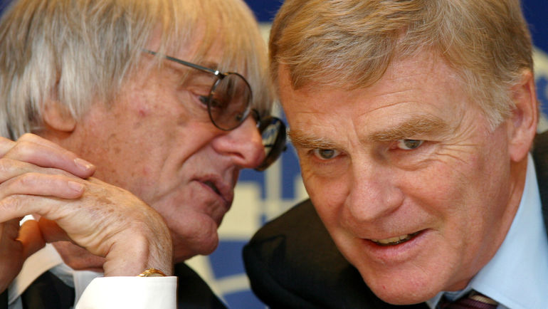 Берни ЭККЛСТОУН (слева) и Макс МОСЛИ. Фото Reuters