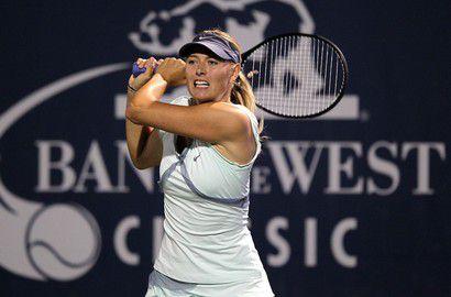 Мария ШАРАПОВА вышла в полуфинал турнира Bank of the West Classic. Фото AFP Фото AFP