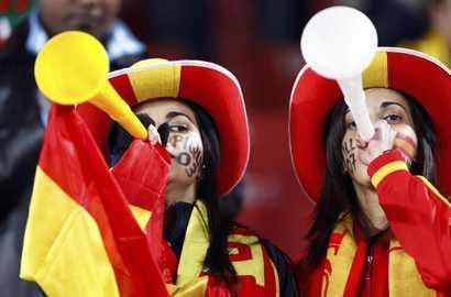 Вувузелы - такой же символ футбольного ЧМ-2010, как и победа сборной Испании. Фото REUTERS Фото Reuters