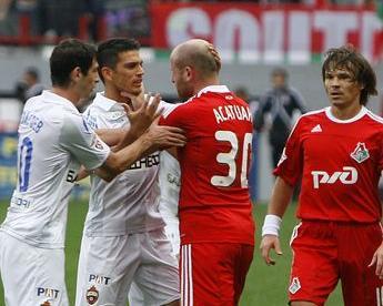 Асатиани, Гонсалес и Широков  дисквалифицированы на четыре матча Фото «СЭ»