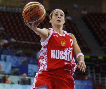 Защитница сборной России Бекки ХЭММОН. Фото REUTERS Фото Reuters