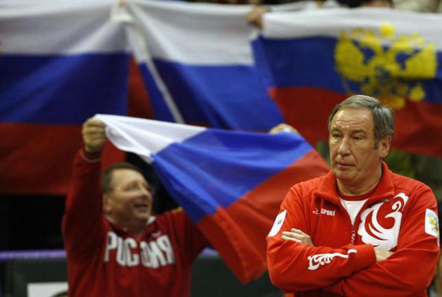 Капитан сборной России Шамиль ТАРПИЩЕВ. Фото REUTERS Фото Reuters