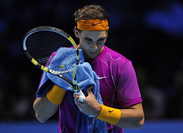 Испанский теннисист Рафаэль НАДАЛЬ в матче против Энди МАРРЭЯ. Фото AFP Фото AFP