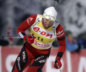 Эмиль Хегле СВЕНДСЕН выиграл вторую гонку подряд на старте Кубка мира. Фото REUTERS Фото Reuters