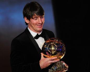 Лионель МЕССИ - лучший игрок мира-2010. Фото AFP Фото «СЭ»