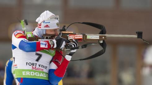 Член российской смешанной эстафетной команды Иван ЧЕРЕЗОВ. Фото AFP Фото «СЭ»