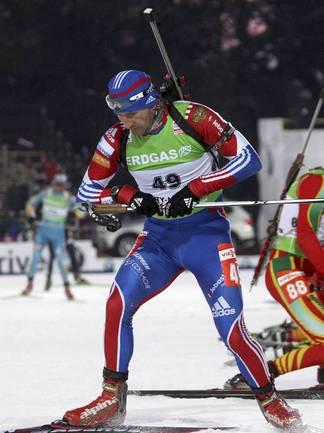 Серебряный призер чемпионата мира Максим МАКСИМОВ. Фото REUTERS Фото Reuters