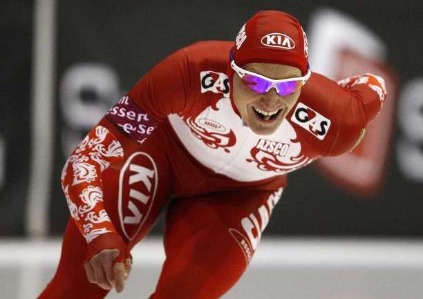 Четверг. Инцелль. Иван СКОБРЕВ ни дистанции 1500 метров. Фото REUTERS. Фото Reuters