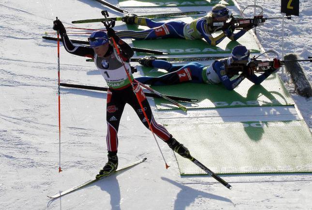 Нойнер выиграла масс-старт на чемпионате мира, Зайцева - шестая Фото «СЭ»