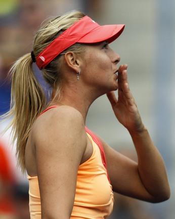 Четверг. Индиан-Уэллс. Мария ШАРАПОВА празднует выход в полуфинал BNP Paribas Open. Фото REUTERS. Фото Reuters