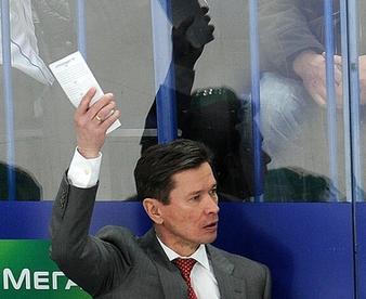 Вячеслав БЫКОВ. Фото Владимира БЕЗЗУБОВА, КХЛ Фото «СЭ»