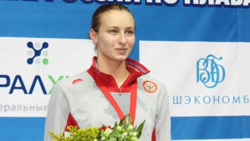 Чемпионка и рекордсменка России Вероника ПОПОВА. Фото Михаила МАКАРОВА Фото «СЭ»