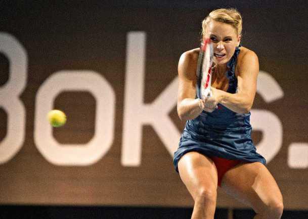 Первая ракетка мира Каролин ВОЗНЯЦКИ. Фото REUTERS Фото Reuters
