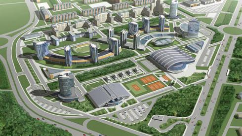 Так будет выглядеть Олимпийская деревня Универсиады-2013. Фото Kazanlife.com Фото «СЭ»