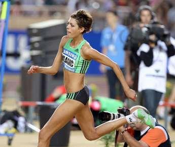 Двукратная чемпионка мира в прыжках в высоту Бланка ВЛАСИЧ. Фото AFP Фото AFP