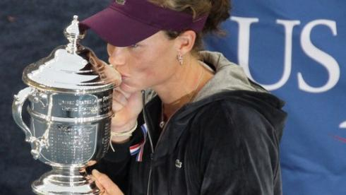 Саманта СТОСУР после победы на US Open. Фото AFP Фото AFP