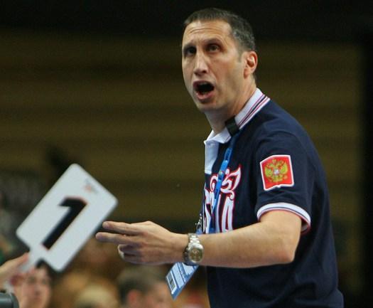 Главный тренер сборной России Дэвид БЛАТТ. Фото AFP Фото AFP