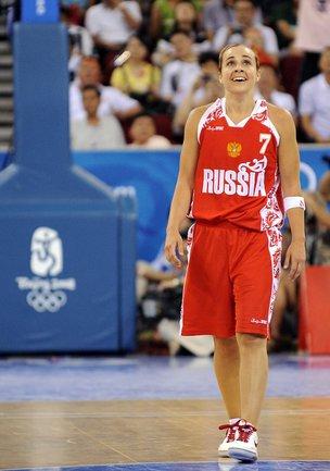 Игры в Лондоне могут стать второй Олимпиадой для Бекки ХЭММОН в составе сборной России. Фото AFP Фото AFP