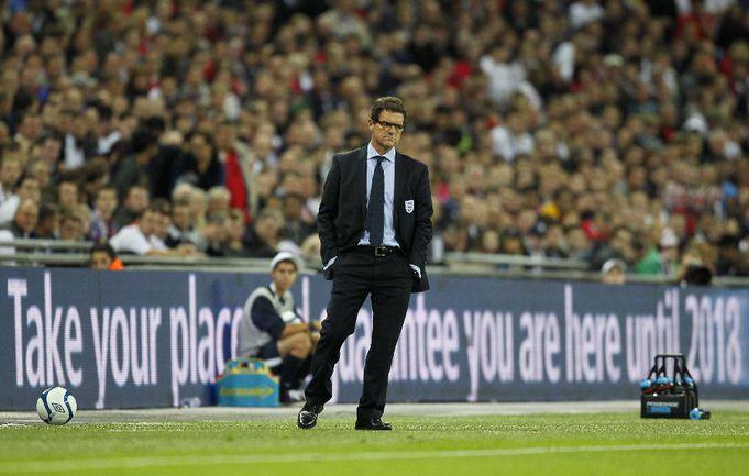 Главный тренер сборной Англии Фабио КАПЕЛЛО. Фото AFP Фото «СЭ»